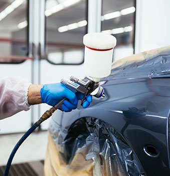 auto body shop painting